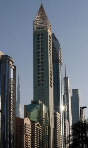 Conoce el hotel más alto del mundo ubicado en Dubái 000_ZG5HW-296x500