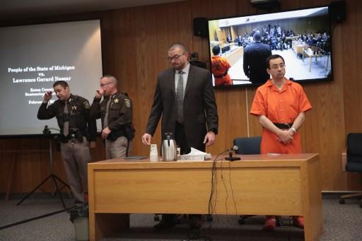 """Nueva condena: el """"depredador"""" de gimnastas podría tener 125 años de prisión adicionales 063_914532970"""
