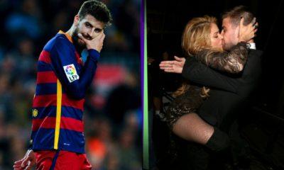 Gerard Piqué le es infiel a Shakira