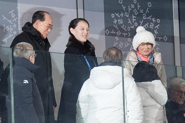 Las dos Coreas lanzan un mensaje de paz en inauguración de los Juegos Olímpicos de Invierno 916130336