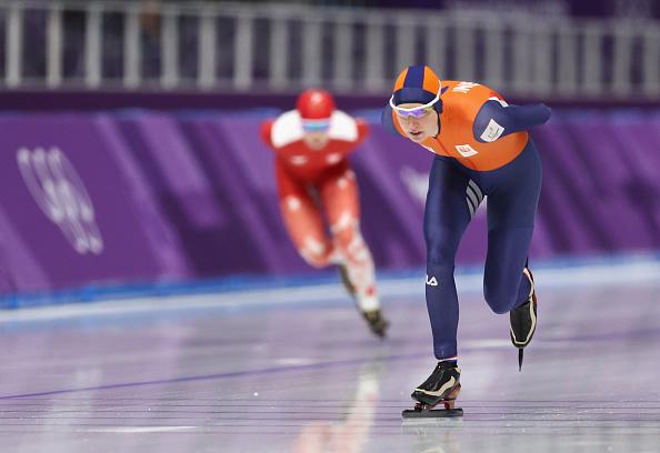 Ella es la primera ganadora de los Juegos Olímpicos de Invierno 2018 916543392