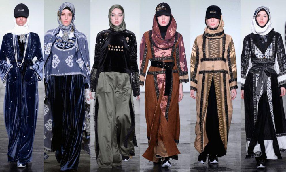 Sorprende inusual desfile de moda musulmana en Nueva York DVzrHSXU0AEW9qu