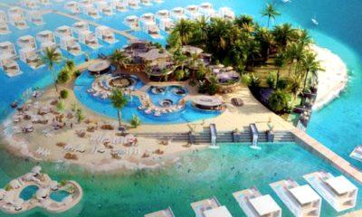 construcción de islas de Dubái