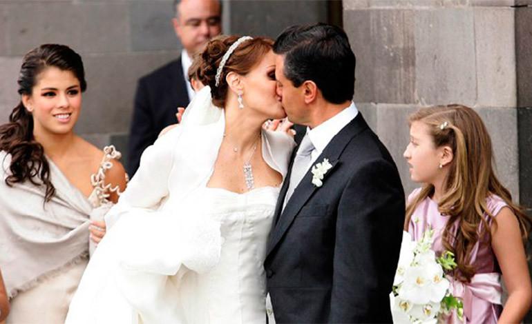 Peña Nieto celebra San Valentín con mensaje para su esposa PENA-Y-RIVERA-770x470