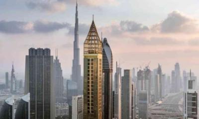 hotel más alto del mundo , Gevora Hotel, Dubái