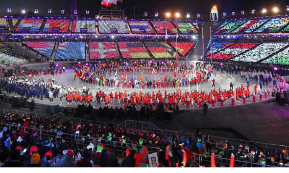 clausura de los Juegos Olímpicos de Invierno, Juegos Olímpicos de Invierno
