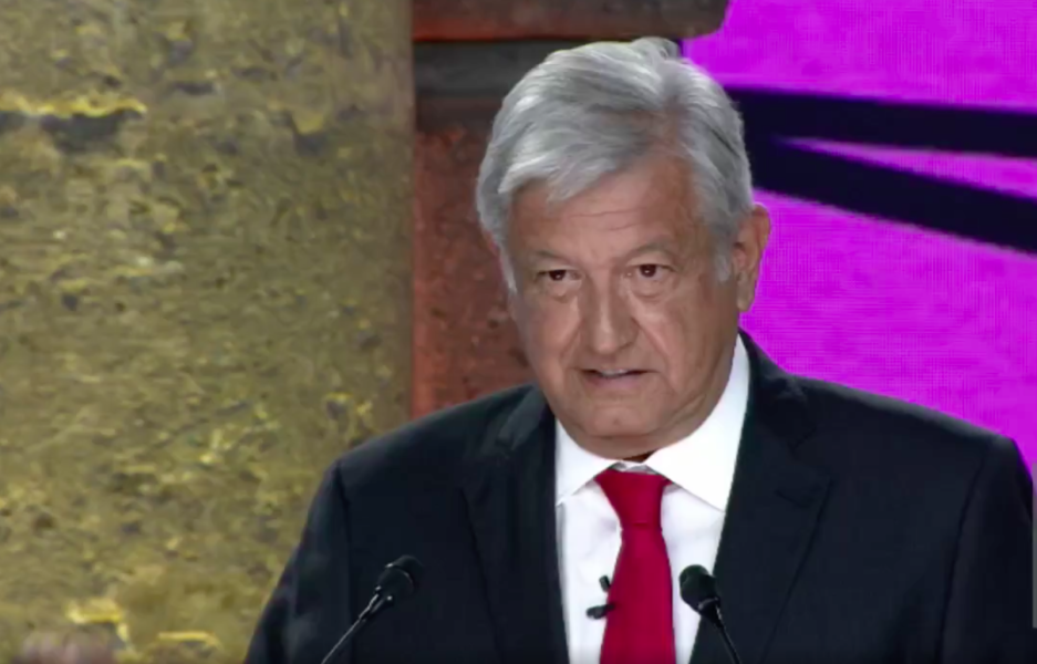 AMLO en el primer debate presidencial 2018, AMLO, López Obrador, ya sabes quién, elecciones2018, MORENA, PT, PES