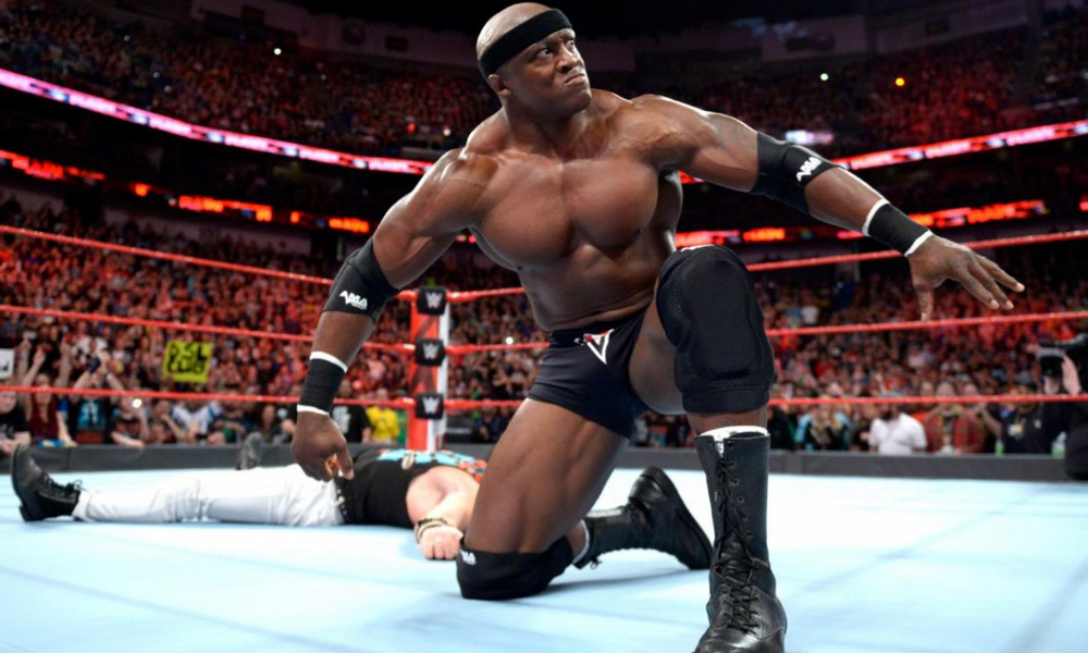 Bobby Lashley regresó a la WWE, WWE