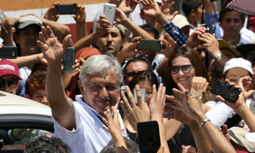 AMLO fijará postura respecto a renuncia, AMLO, López Obrador, Zavala, Zavala renuncia, mafia del poder, MORENA, PT, PES, Elecciones2018