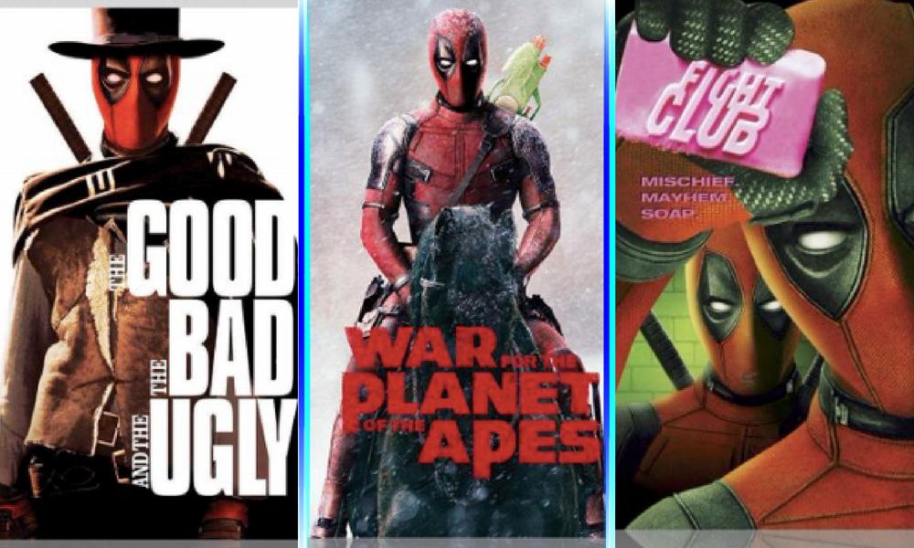 """""""Deadpool"""" invadió las portadas de películas"""