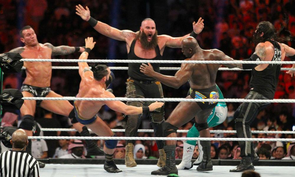 Greatest Royal Rumble, WWE Greatest Royal Rumble , WWE