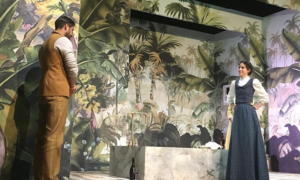'Señorita Julia' en el Teatro Milán