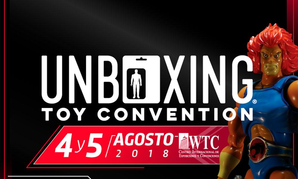 segunda edición de 'Unboxing Toy Convention'