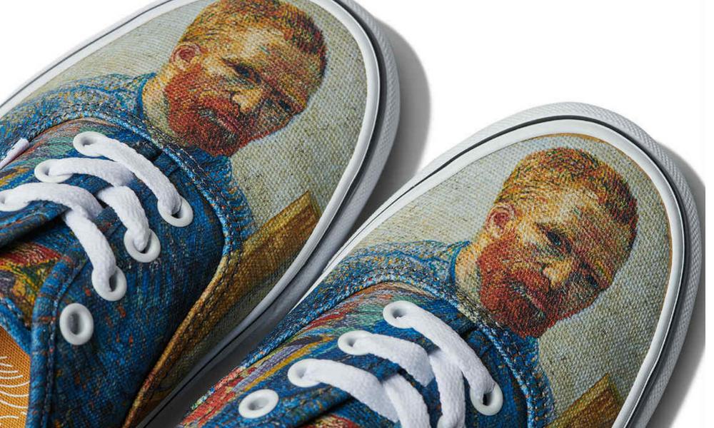 Se Van Colección Para Su Vans Inspiró Nueva Gogh En td48tqRA
