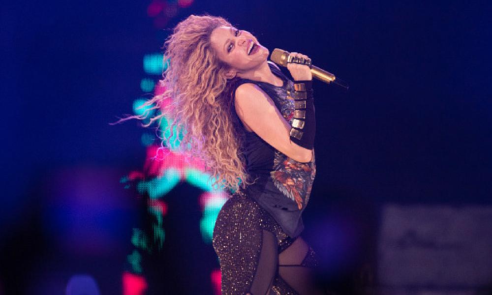 Shakira tiene nuevamente problemas con su voz