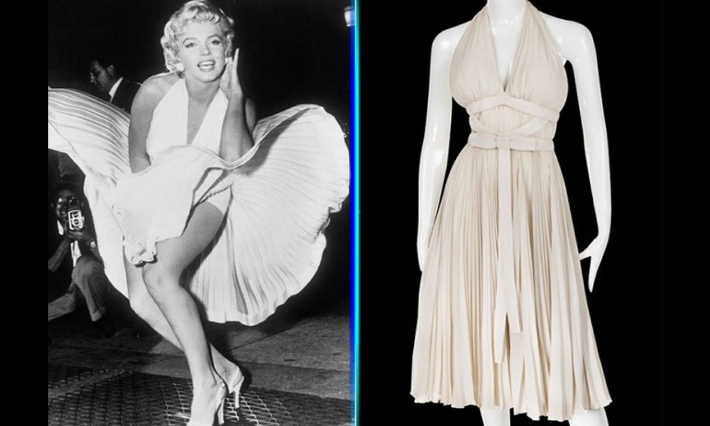 vestidos de Marilyn Monroe a subastarse