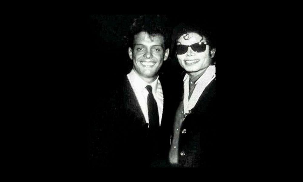 Michael Jackson y Luis Miguel