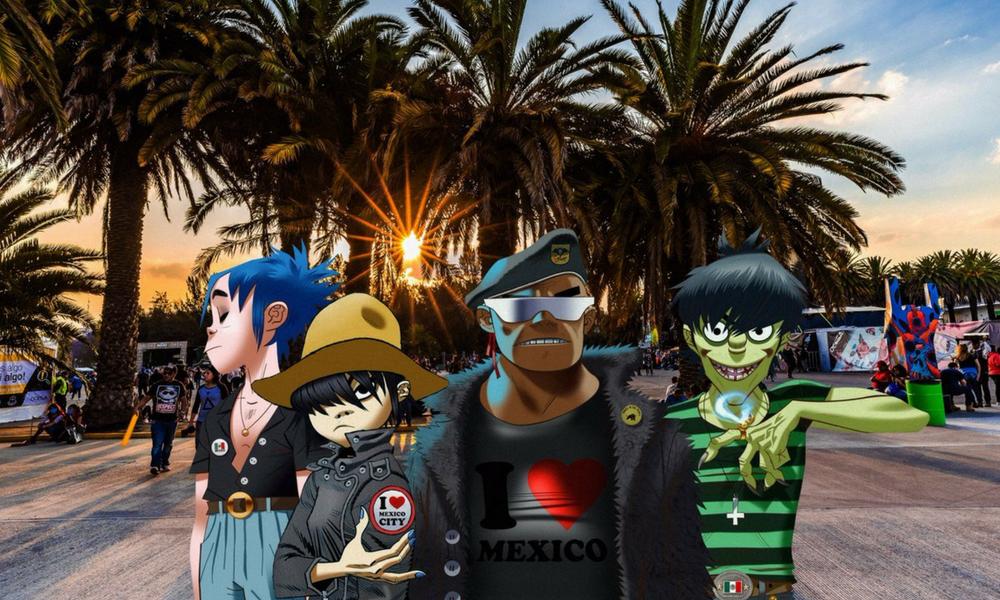regreso de Gorillaz a México