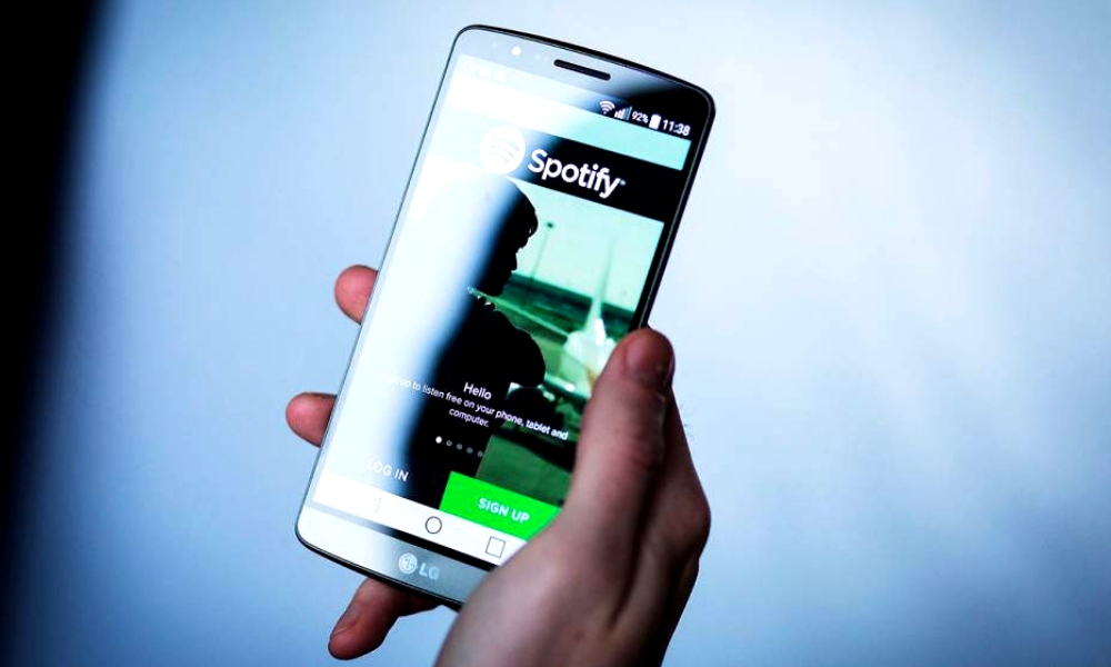 Spotify aumenta su cantidad de descargas