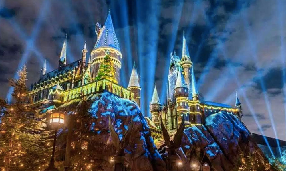 Universal Studios para Navidad