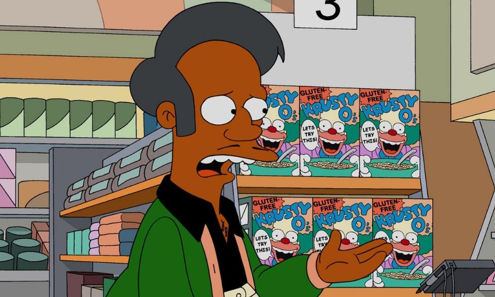 Apu deja a Los Simpson por racismo