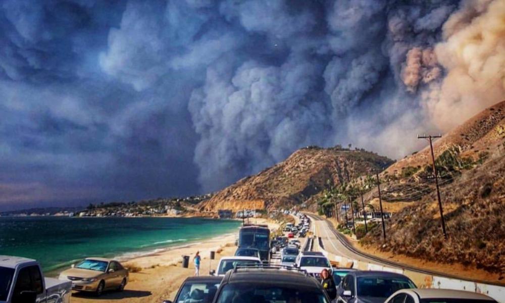 Los incendios en California