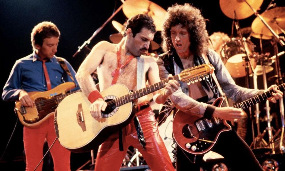 Queen está a la cabeza de reproducciones de música