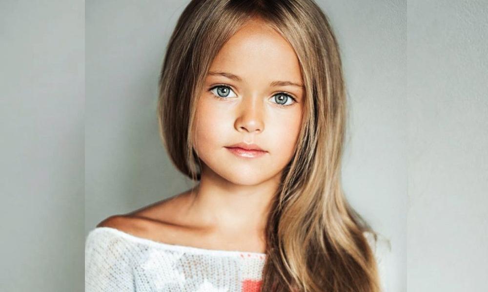 'La niña más bonita del mundo'