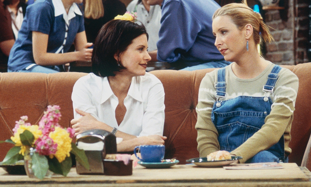 Courteney Cox y Lisa Kudrow