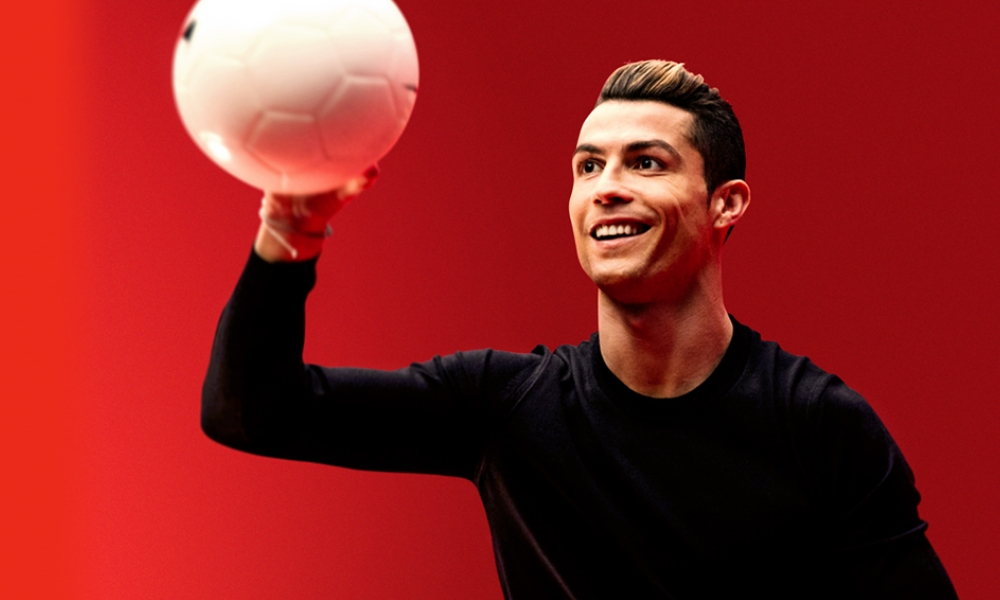 Cristiano Ronaldo creó su propio desodorante