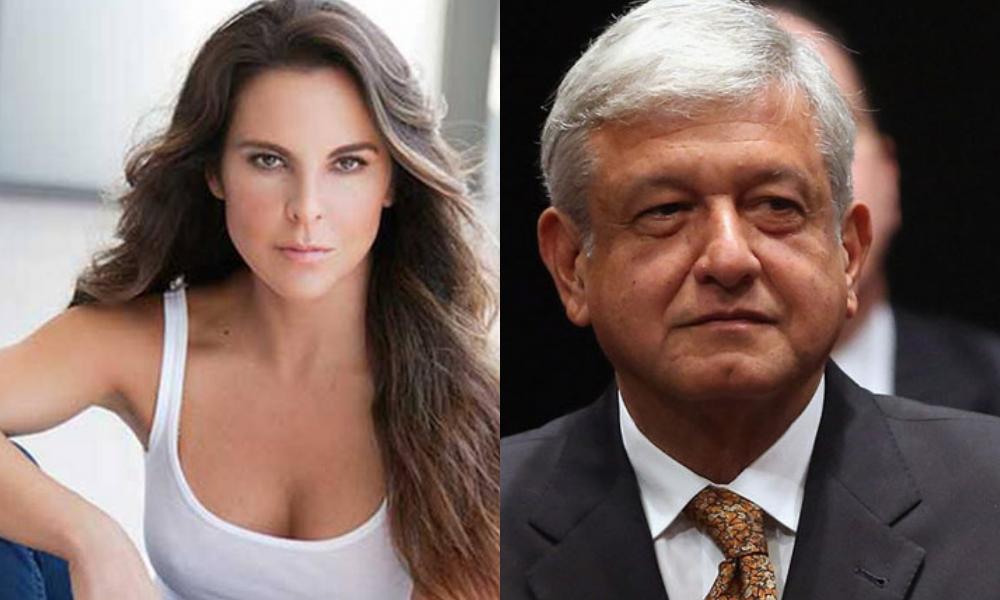 AMLO le contestó a Kate del Castillo