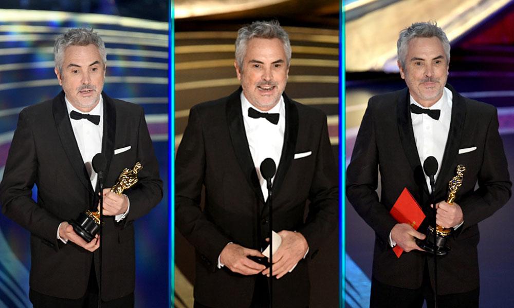 'Roma' ganó tres Premios Oscar