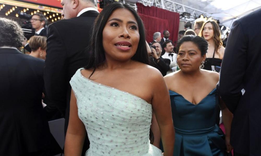 reacción de Yalitza Aparicio por perder el Oscar