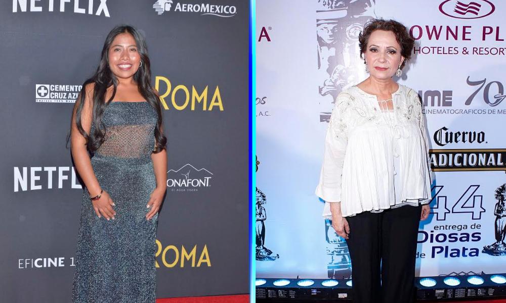 Adriana Barraza aconsejó a Yalitza Aparicio