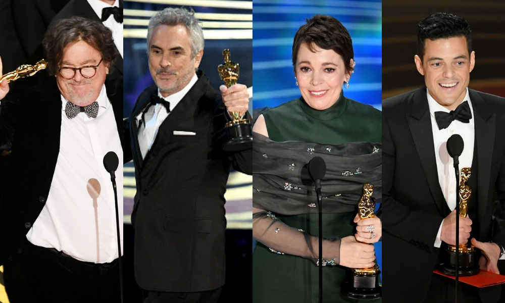 Ganadores de los Premios Oscar 2019