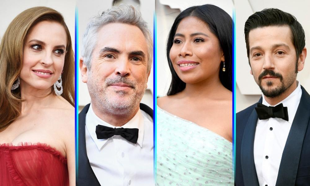 mexicanos en la Alfombra Roja de los Oscar