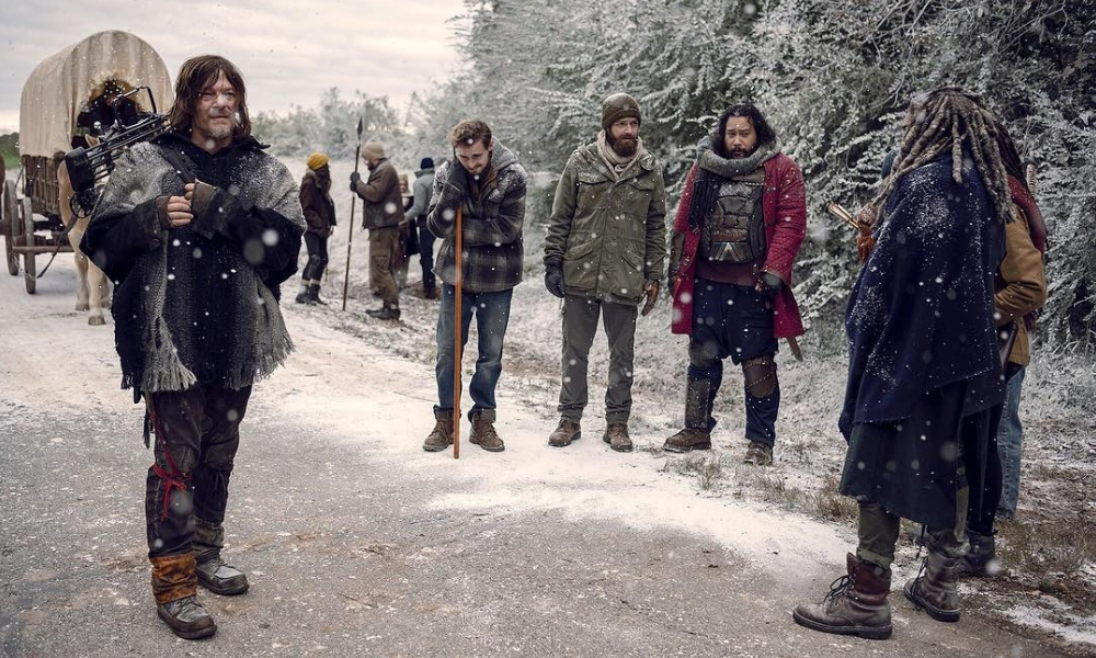 invierno en 'The Walking Dead', nunca es invierno en The Walking Dead, grabaciones de The Walking Dead, Georgia