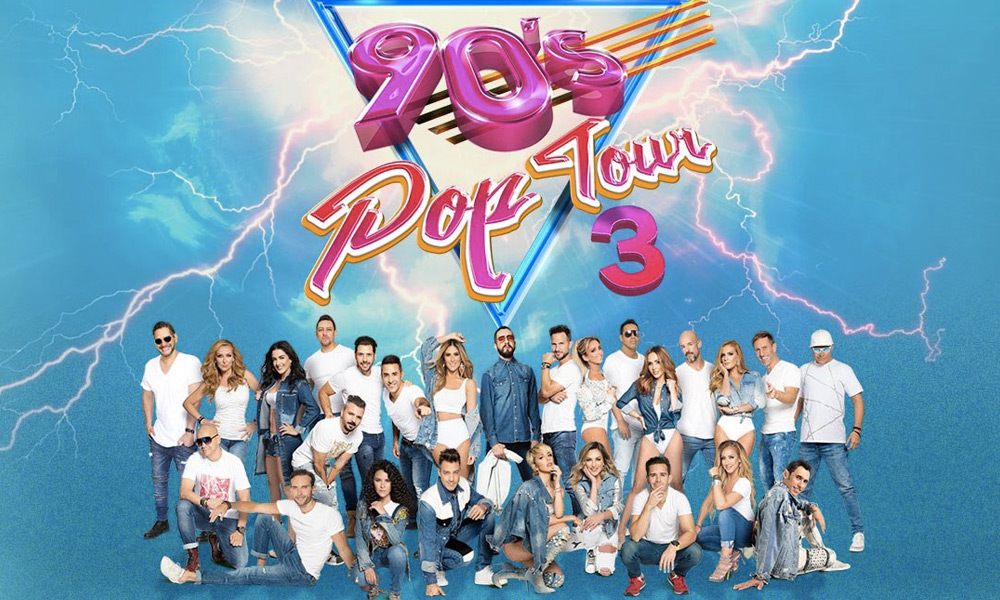 '90s Pop Tour' presentó su tercer disco