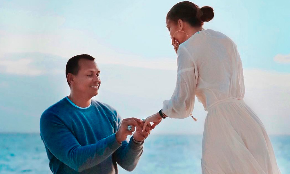 pidió matrimonio Alex Rodríguez a Jennifer Lopez
