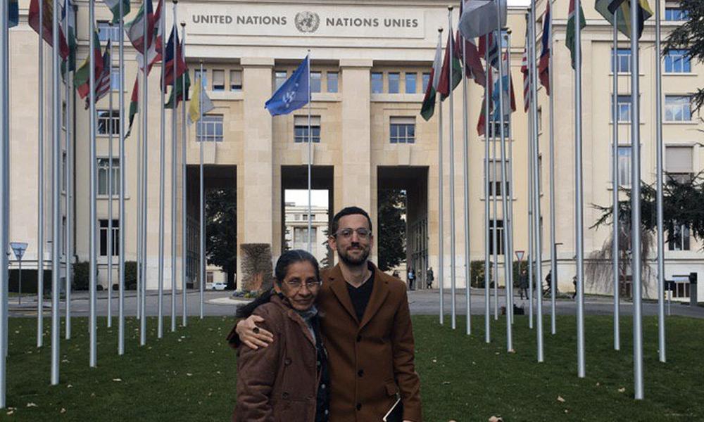 Luis Gerardo Méndez en la ONU