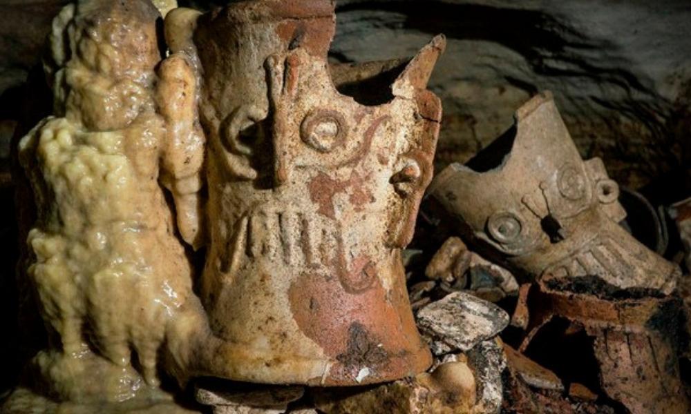 tesoro en zona arqueológica de Chichén Itzá
