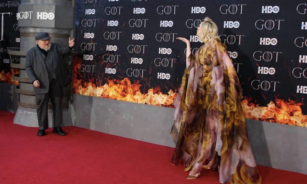 Alfombra roja de 'Game of Thrones'