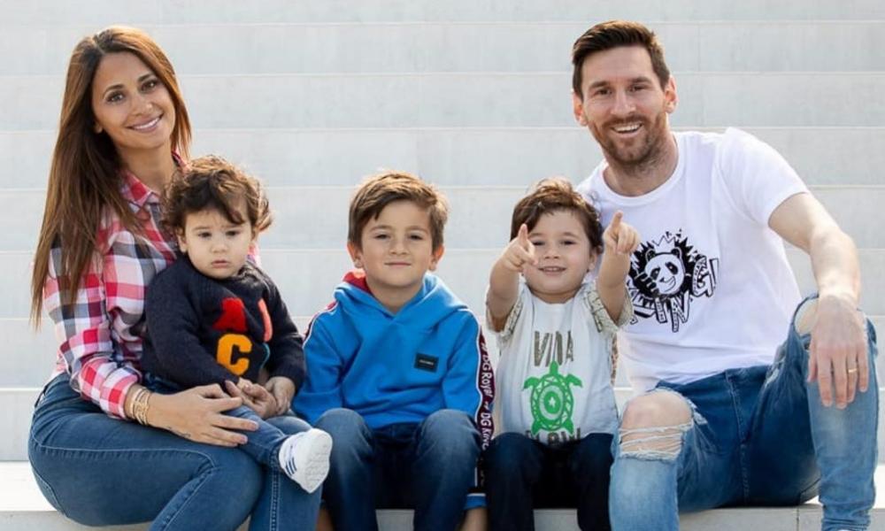 mandaron un mensaje al hijo de Messi