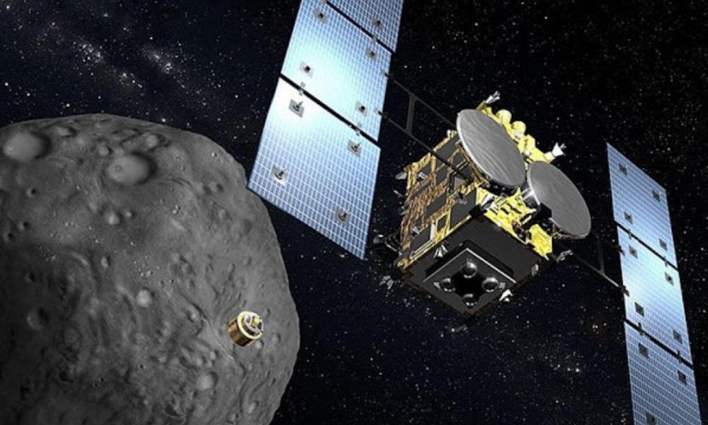 Sonda Hayabusa2 lanzó explosivo a asteroide