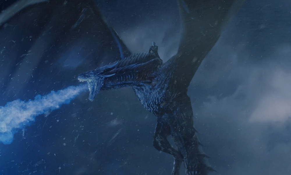 'Viserion' de 'Game of Thrones' llegó a Nueva York
