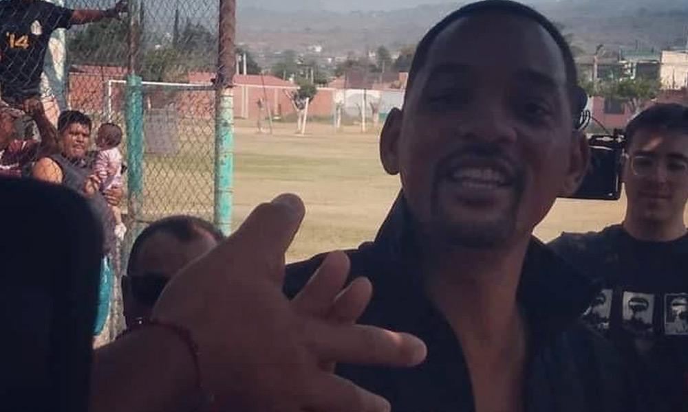 Will Smith sorprendió a sus fans mexicanos
