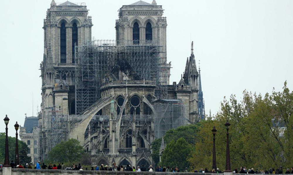 donaciones para restaurar Notre Dame