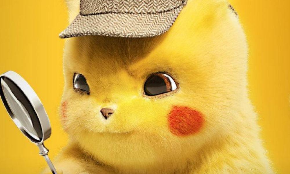 nuevos pósters de 'Pokémon: Detective Pikachu', Ryan Reynolds, Detective Pikachu, Justice Smith, Kathryn Newton, Omar Chaparro