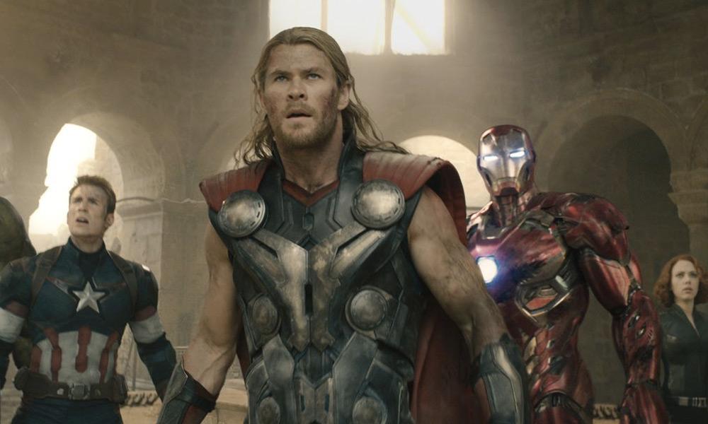 Foto de los 'Avengers' originales