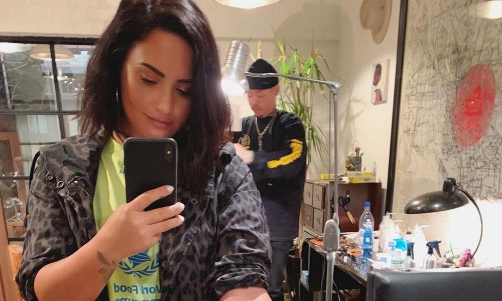 Nuevo tatuaje de Demi Lovato